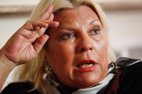 Carrió se presentará en la justicia para que se investigue a Cristóbal Lopez por la oferta a Petrobras