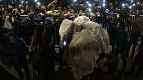 Fantasmas en Bahía: los jugadores de Boca disfrutaron la consagración
