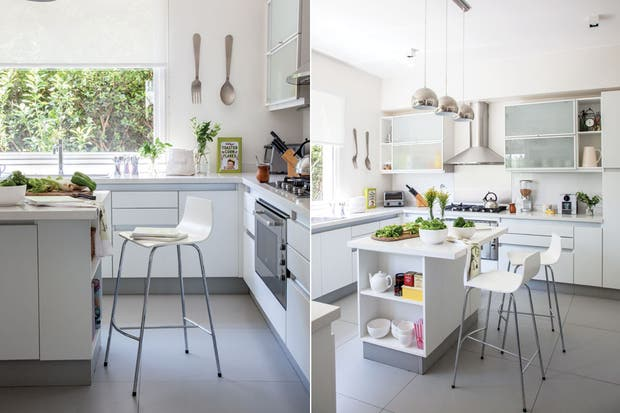 Seis opciones para una isla en tu cocina living - Banquetas de cocina ...