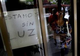 Vecinos sin luz en Villa Crespo, esta semana