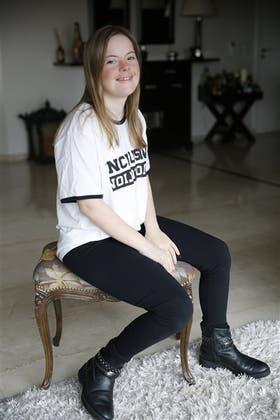 Sofía vive en Palermo, junto con su familia