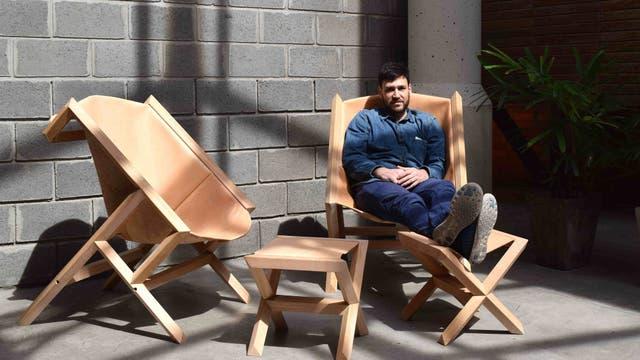 Marcelo Orlievsky, ganador Incubate 2016, con su emprendimiento Espina Corona