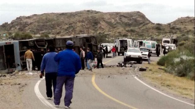 15 personas fallecieron en el accidente en Mendoza