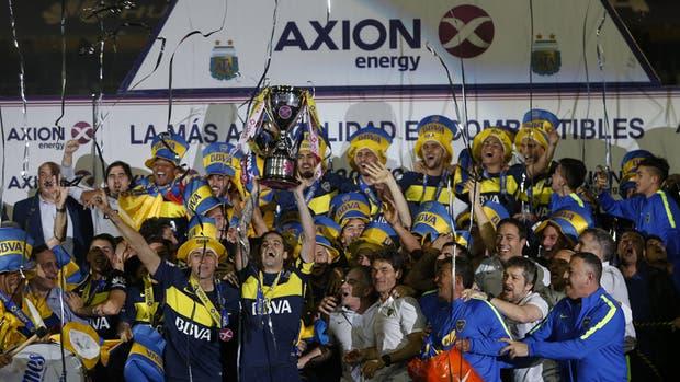 Axion seguirá siendo el sponsor del fútbol argentino