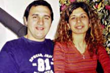 Jorge Mangeri y su esposa, Diana Saettone. Foto: Gentileza revista Gente