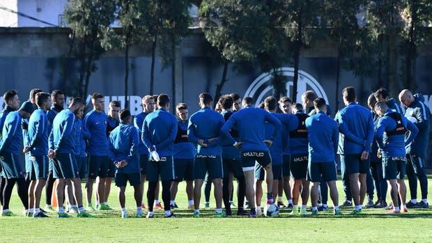 San Lorenzo comenzó su pretemporada