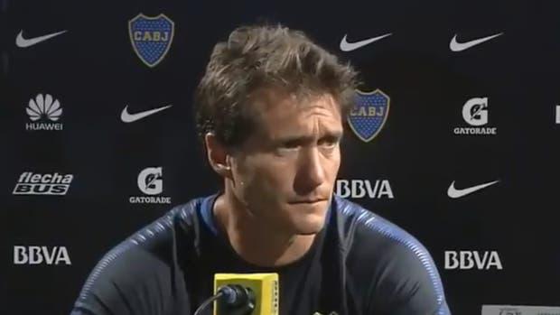 El DT de Boca puso énfasis en la jerarquía del plantel y le apunta a Godoy Cruz