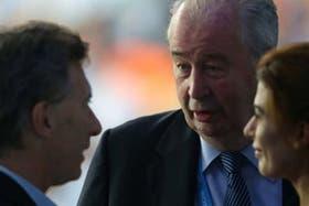 Macri responsabilizó a Grondona por el momento del fútbol argentino