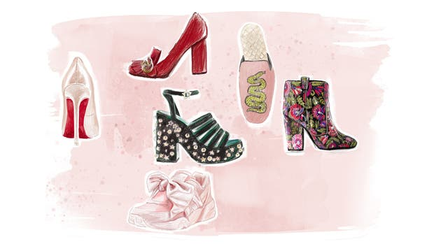 Los stilettos, las sandalias con plataforma, los mocasines, botas cortas y zapatillas son algunas de las tipologías de la temporada