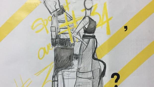 Los bocetos de primavera-verano de Emiliano Blanco y Camila Milessi