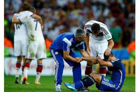 La tristeza de los jugadores. Foto: Reuters
