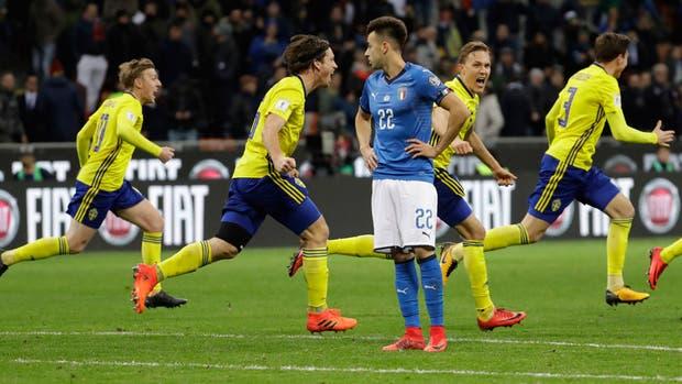 Italia no reacciona tras quedarse al margen de un Mundial por primera vez en 60 años