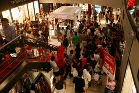 A pocos días de Navidad, los centros comerciales esperan estos días tener un importante volúmen de ventas en base a promociones