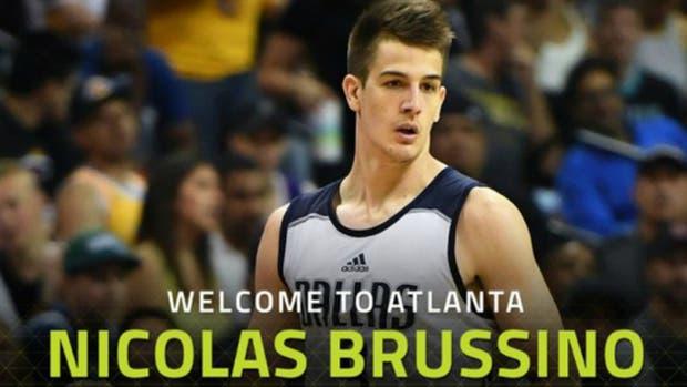 Nicolás Brussino, nuevo jugador de Atlanta Hawks