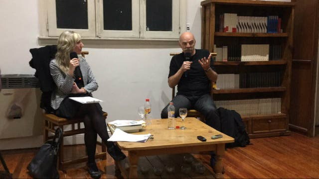 Budassi y Caparrós en la Fundación TEM