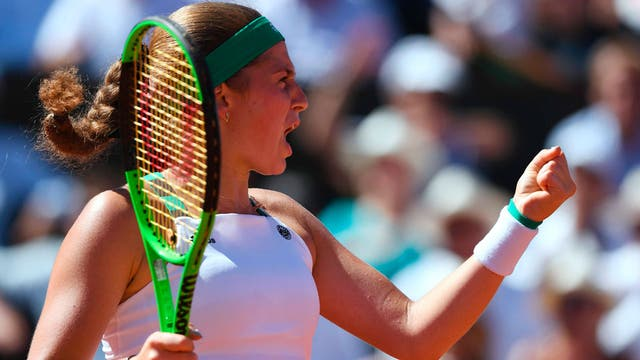Ostapenko consiguió su primer Grand Slam