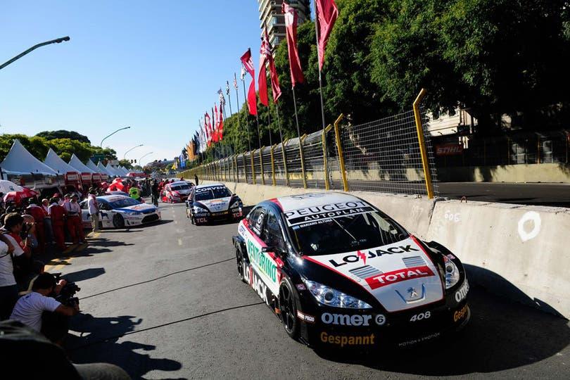 La ciudad vibró con el circuito callejero del Súper TC2000. Foto: LA NACION / Laura Cano