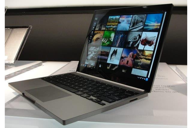La Chromebook Pixel tiene una pantalla de 12,8 pulgadas, un chip Intel Core i5 y un precio de 1300 dólares