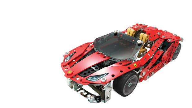 Los amantes de la Ferrari pueden armar su versión