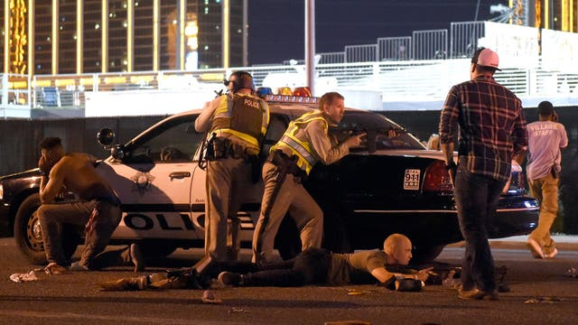 La policia de las vegas actuo de inmadiato. Foto: /AFP / AFP PHOTO / GETTY IMAGESDavid Becker