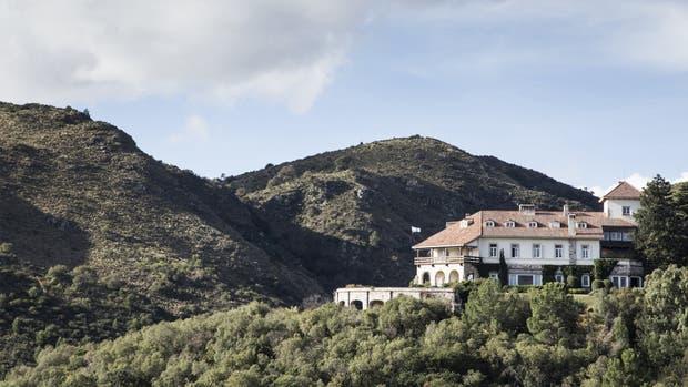 El castillo de Mandl fue construído en 1934 y ahora funciona como hotel