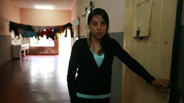 Romina Tejerina, todavía presa, en 2008. En 2012 fue liberada tras cumplir dos tercios de su condena a 14 años de prisión