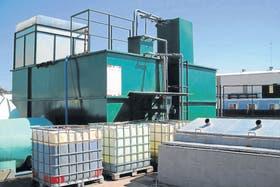 Con esta obra, la firma Ecosan se convirtió en una de las pocas empresas en contar con una planta de tratamiento de desechos