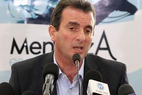 El gobernador de Mendoza, Francisco Pérez