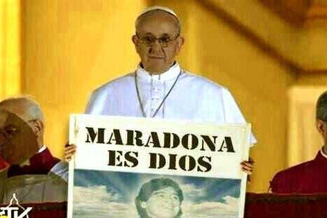 Un cartel argentino.