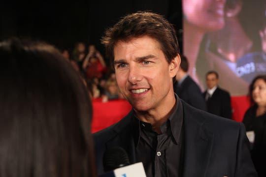 Tom Cruise en la Red Carpet argentina. Foto: LA NACION / Matias Aimar