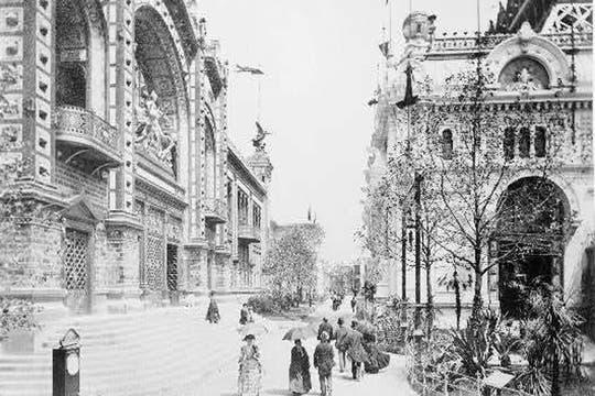 Pabellón Argentino en la Exposición Universal de París de 1889. Foto: www.arcondebuenosaires.com.ar