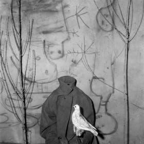 Roger Ballen, Sin cabeza, de la serie Asilo de los pájaros (2006), en el Recoleta