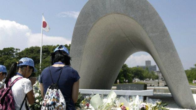 Hiroshima se volvió un símbolo de la lucha por la paz y el desarme nuclear