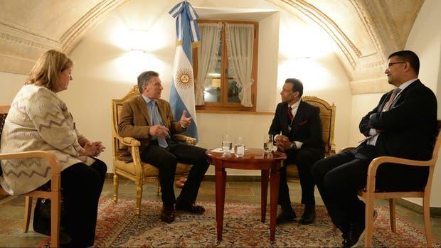 Macri y Varkey conversaron sobre un proyecto de entrenamiento a maestros y profesores