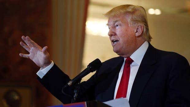 El histriónico candidato republicano Donald Trump