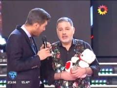 La presentación de Doman en Showmatch 2016