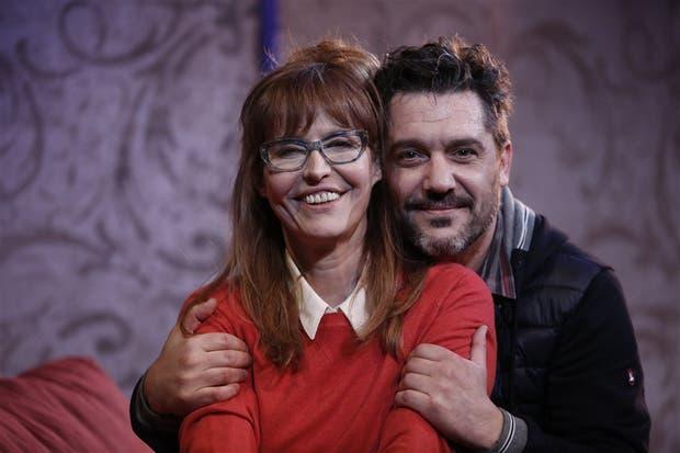 Esther Goris y Maxi Ghione, protagonistas de esta nueva comedia