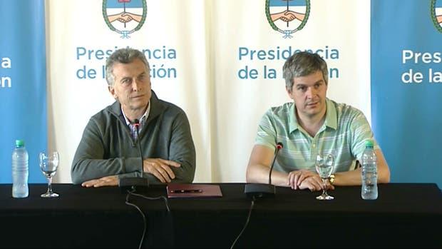 Resultado de imagen para Macri Peña conferencia de prensa