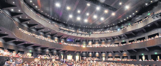 Tiene mayor capacidad que la Martín Coronada, del Teatro San Martín, de Buenos Aires