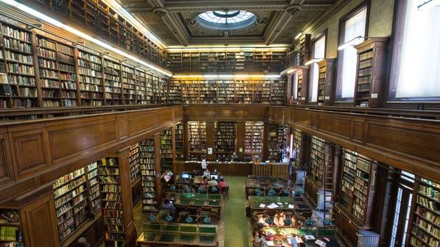 Biblioteca del Colegio Nacional de Buenos Aires. Foto: Ignacio Sánchez