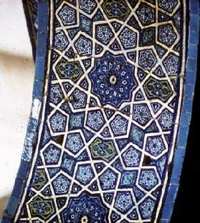 Mosaico islámico medieval