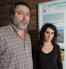 Pablo Mauas y Andrea Buccino, ambos del IAFE