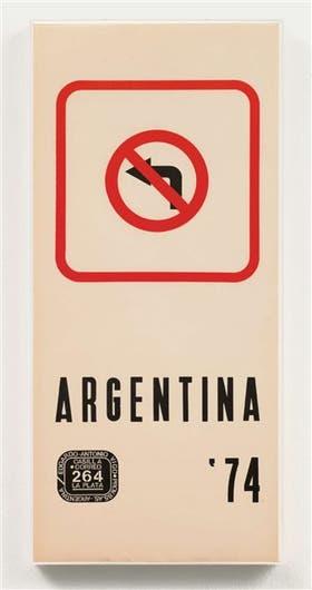 Argentina '74, de Edgardo Antonio Vigo, una de las primeras obras vendidas en Art basel Miami