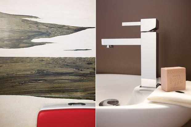 Bachas Para Baño Roja:Un baño con diseño de alto impacto – Daniel Karp – ESPACIO LIVING
