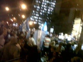 Protestas en la ciudad de La Plata