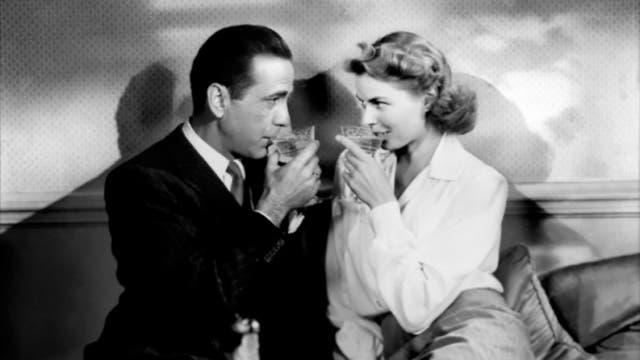Casablanca fue una de las primeras películas cuyos tragos traspasaron la pantalla grande