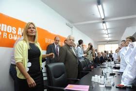 La directora general de Cultura y Educación, Nora De Lucía