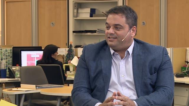 Jorge Triaca, en Conversaciones