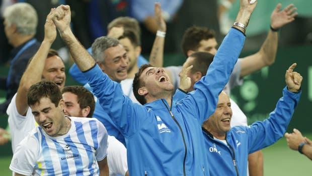 La emoción y la admiración del resto del deporte