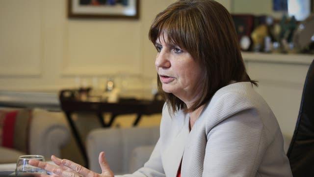Patricia Bullrich defiende a las fuerzas de seguridad que actuaron en el operativo